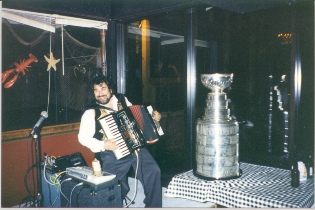 Mark and the Stanley Cup
